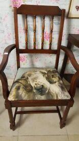 Ram Carver Chair