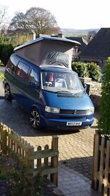 NOW SOLD Thanks to all who enquired VW T4 Campervan, low mileage, professionally converted.