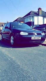 VW Golf 1.4s with a VERY LOW MILEAGE! Only 1 Owner!!!