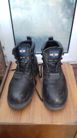 Mens Steel Toecap Boots (Black) Proman, Size 9