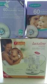 Electric breast pump (double)