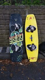 kite boards and harness