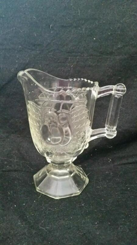 EAPG BALTIMORE PEAR GLASS CREAMER