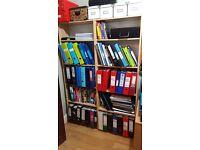2 Ikea bookcases/shelves/book shelves