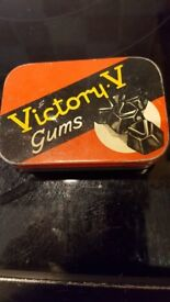 VICTORY 'V' TIN FOR SALE