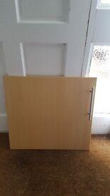 Various Beech kitchen doors/ drawers