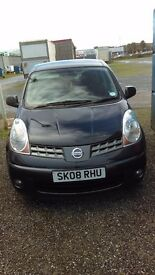 08 nissan note