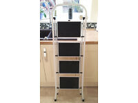 Step Ladder, 4-steps. Top step at 95cm height. Sturdy, hardly used.