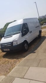 FORD TRANSIT VAN 2013 140 T350 FWD MOT MARCH 2019, 104,000 miles GOOD CLEAN COND