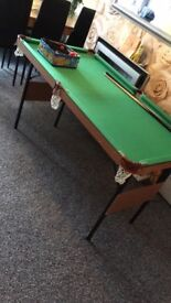 Pool/snooker table with everything £80