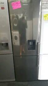 SAMSUNG DARK BROWN  FROST FREE FRIDGE FREEZER WITH WATER DISPENSOR