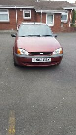 2002 Ford Fiesta Flight 1.3 Petrol sold as spares or repairs.