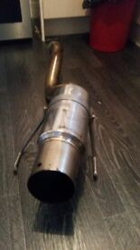 honda civic ep2 M2 exhaust