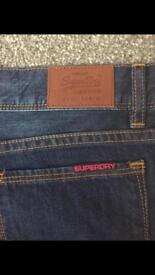 Superdry brand new jeans