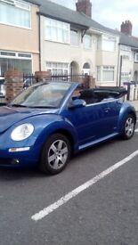57 plate Vw beetle convert 1.6 luna