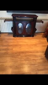 Antique, solid wood, T.V stand.