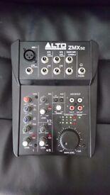 ALTO ZMX 52 ZEPHYR COMPACT MIXER
