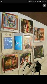Nintendo 3ds xl with loads of games