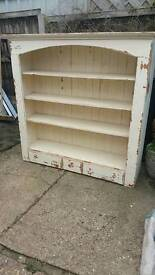 Solid Pine dresser top.Shabby Chiq oroject
