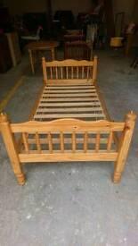 Single Pine Bedframe