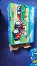Playmobil tractor 4496