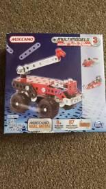Meccano - multimodels rescue fire truck