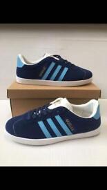 Adidas Gazelles size 12