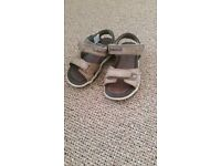 Timberland leather sandals size 7