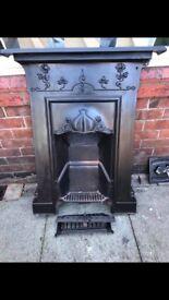 Beautiful Victorian fireplace (original)