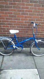 Retro kingpin ladies bike blue great condition