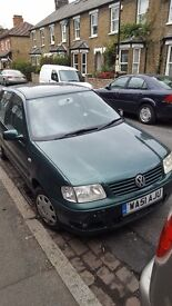 [VW POLO 2001] 12 MONTH MOT WITH NEW BRAKE PADS