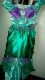 Little mermaid dress age 7/8