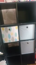 Argos cube wall unit storage x 2