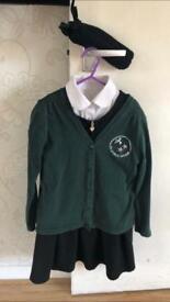 Girls uniform 7-8