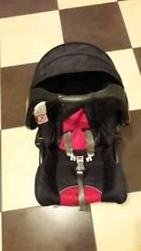 Pram and Baby Car seat