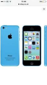 I phone 5c blue BARGAIN