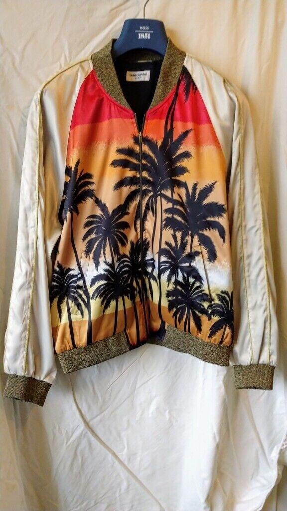 de5076cbe65 Yves Saint Laurent Palm Print Jacket   in Baldock, Hertfordshire ...