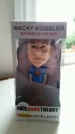 Big Bang Theory Sheldon Talking Bobble Head
