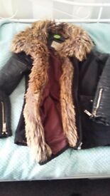 River island coat size 8