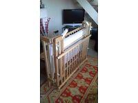 Cot - Wooden Folding