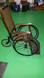 Vintage wheel chair
