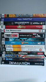 PC Game collection retro - True Crime, Supreme Commander, The Godfather, Transformers +++