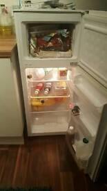 Fridge freezer white