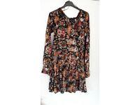 Flowery Next dress size 10