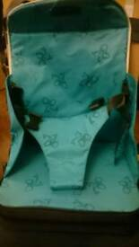 Travel booster seat/highchair