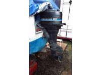 Mercury 20 outboard engine 2 stroke, sell or swap