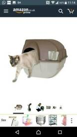 Omega Paw 4.0 out of 5 stars  181Reviews Omega Paw Roll'n Clean Self Cleaning Litter Box Regular