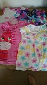 3-6 month girls bundle - 9 items