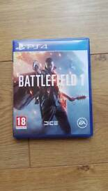 Battlefeild 1 ps4 game