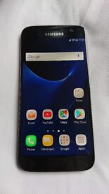 Perfect condition Samsung galaxy s7 black 32 gb unlocked